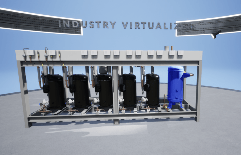 Virtual Reality Software Industrie 4.0