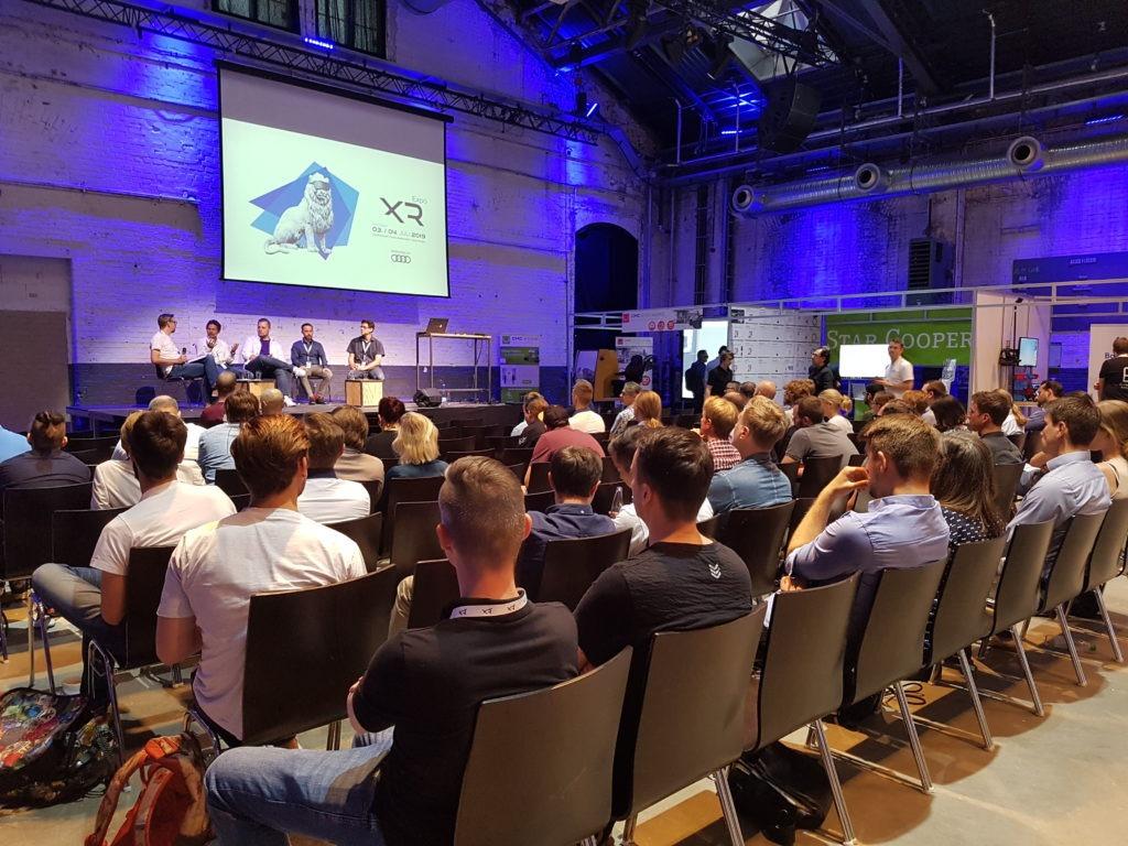 Panel Künstliche Intelligenz XR Expo 2019